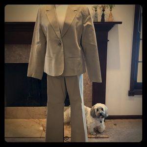Khaki Pants Suit
